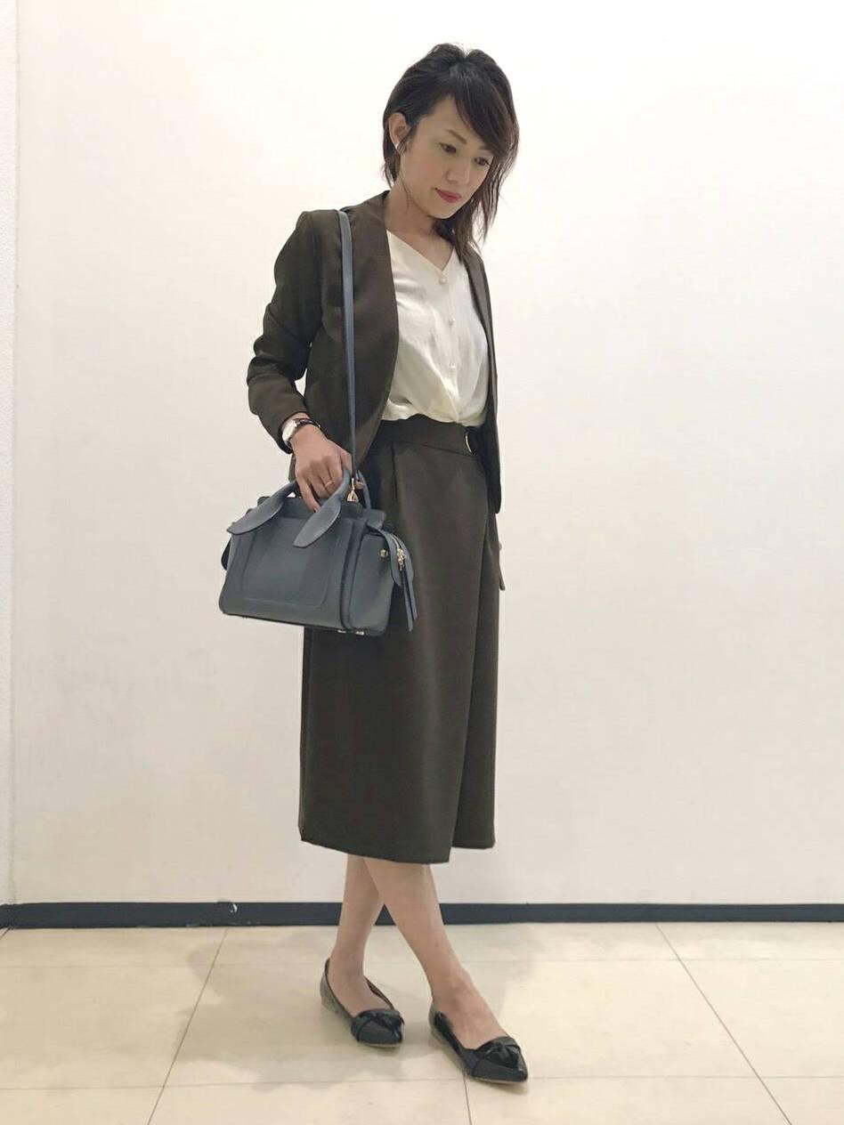 スカートセットアップコーディネート・津田沼店