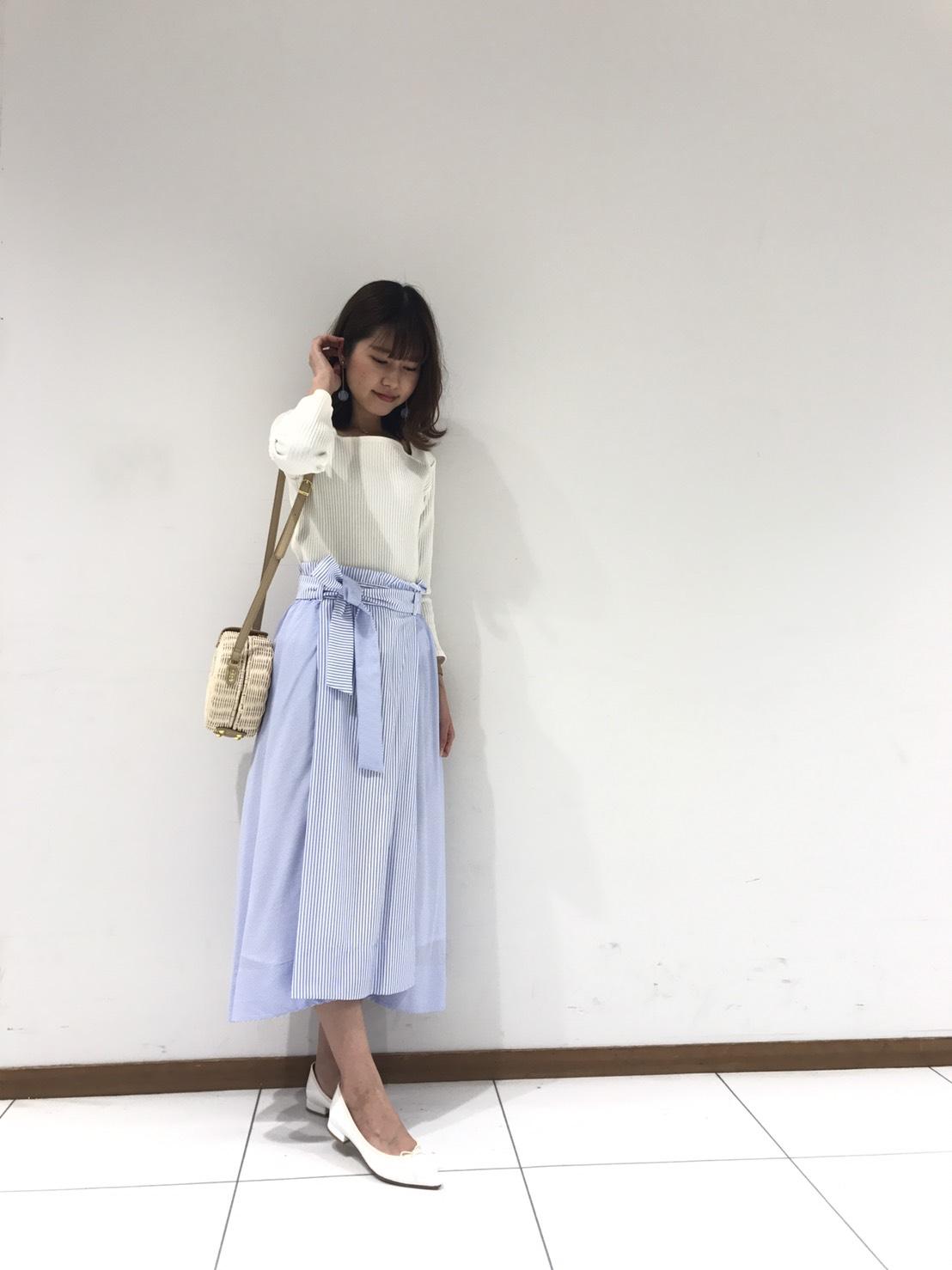 【カタログ掲載】ストライプスカート・津田沼店