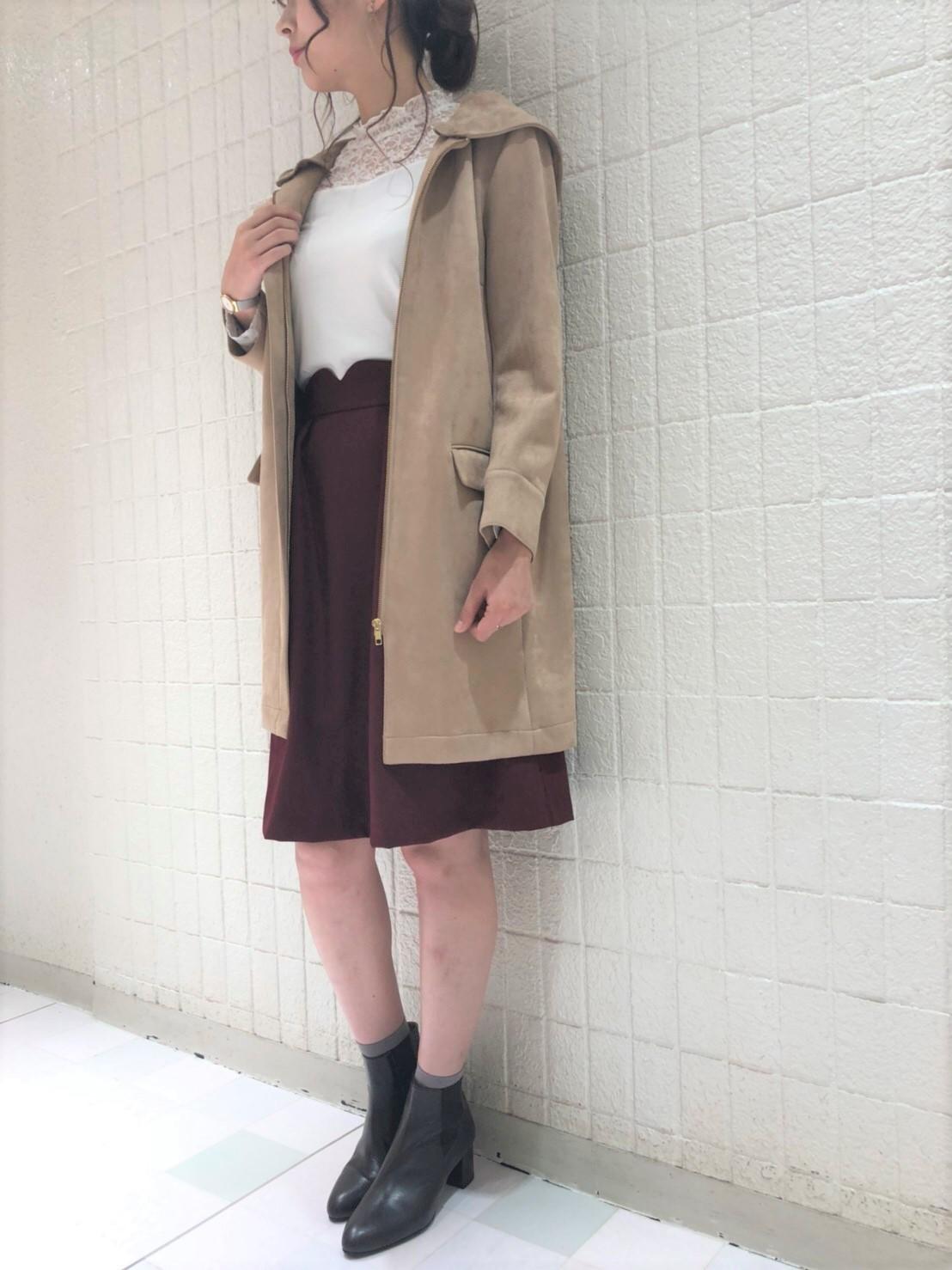 フェミニンスカートコーデ・新宿店