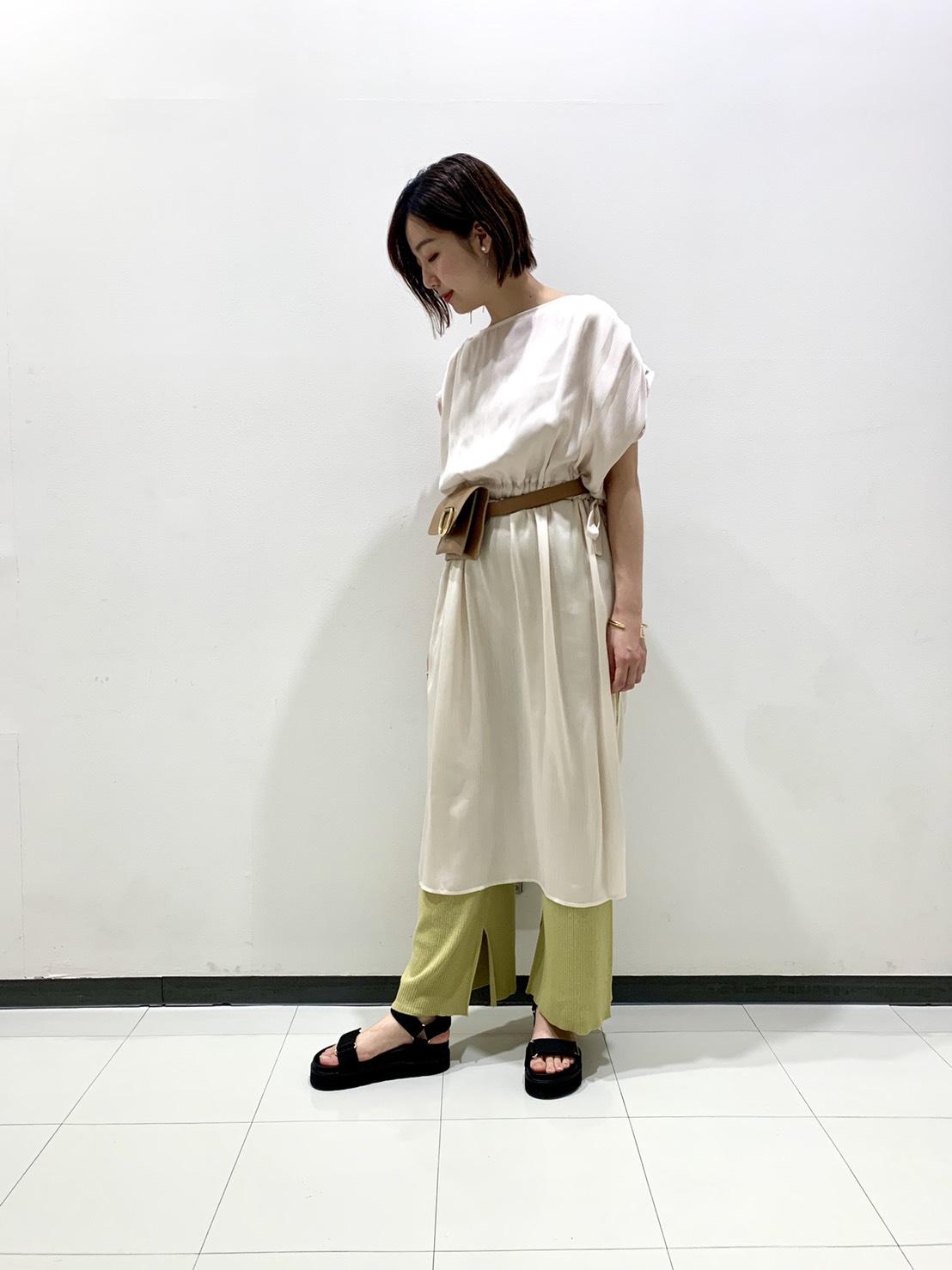 サテン揚柳ワンピース・大宮店