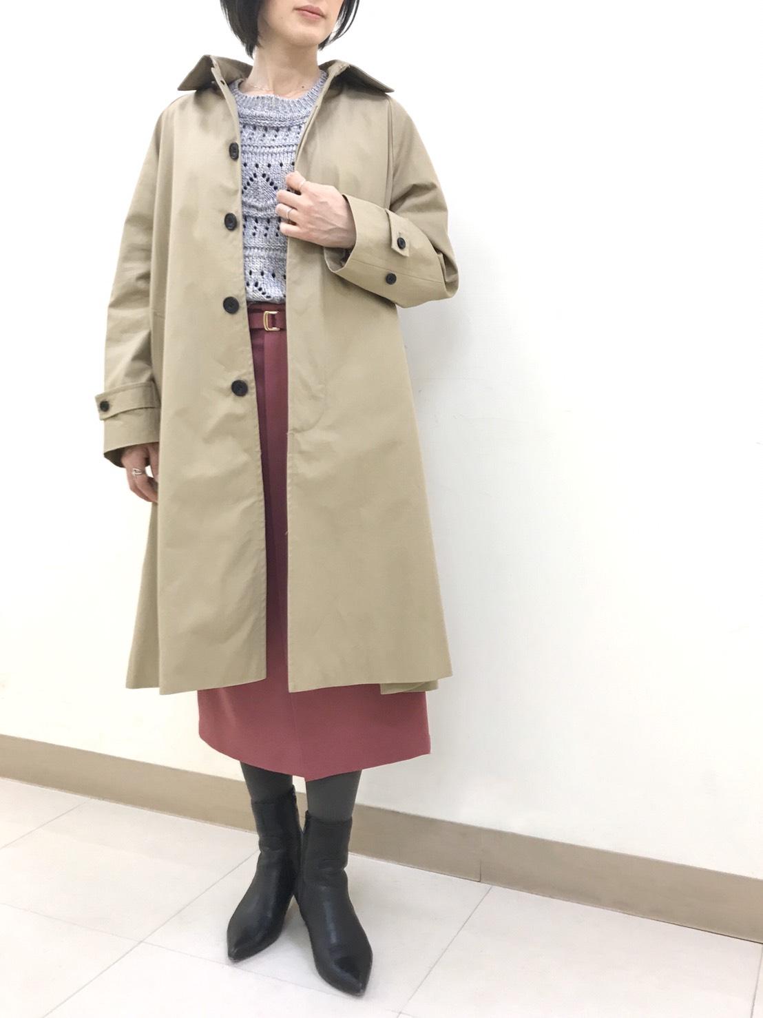 ステンカラ―コート・本厚木店