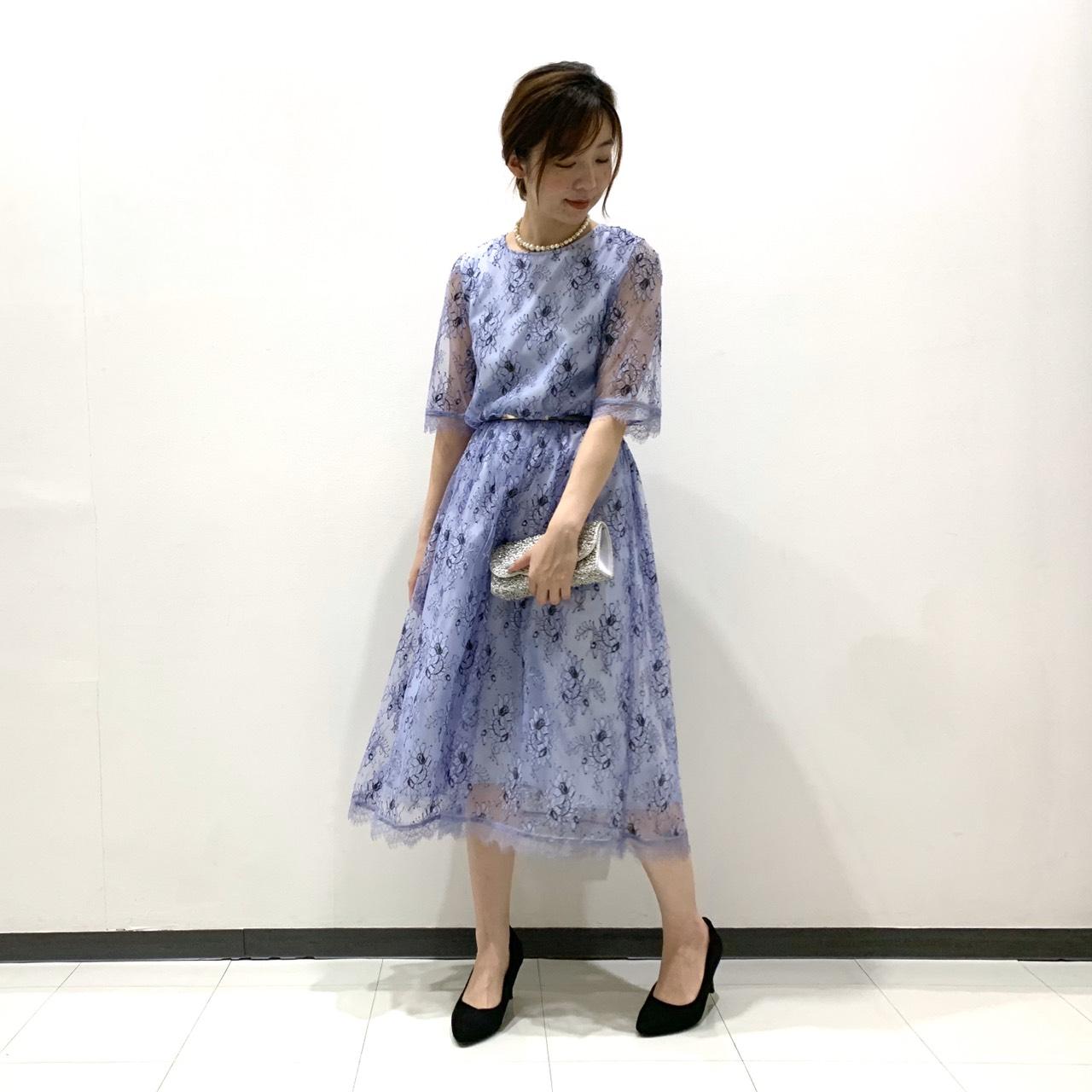 ブラウジングオールレースドレス・大宮店